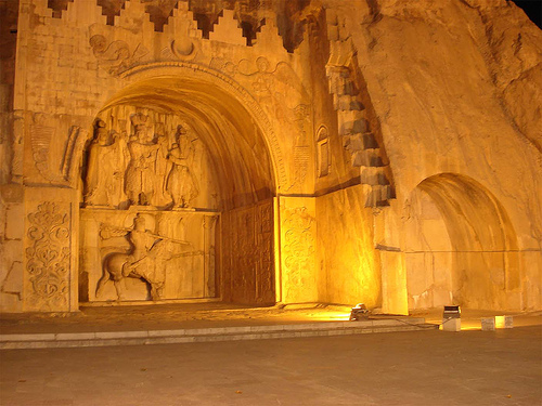 kermanshah iran tours - Taq-e Bostan