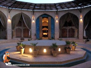 Zeinoddin caravansary-Yazd -iran tour